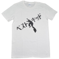 THE KARATE KID Jpanese Text Tシャツ WHITE