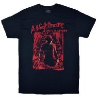 A NIGHTMARE ON ELM STREET エルム街の悪夢 Freddy Silhouette Tシャツ