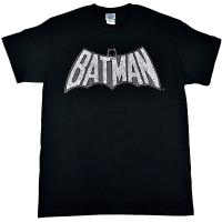 BATMAN Retro Crackle Logo Tシャツ
