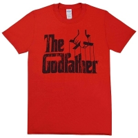 THE GODFATHER Logo Tシャツ RED