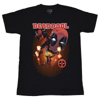 DEADPOOL Collage Tシャツ