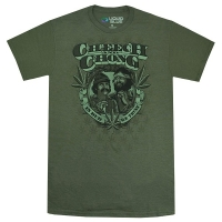 CHEECH&CHONG In Weed We Trust Tシャツ