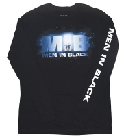 MEN IN BLACK Logo ロングスリーブ Tシャツ