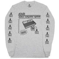 ATARI Softhand ロングスリーブ Tシャツ