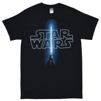 STAR WARS Logo And Saber Tシャツ
