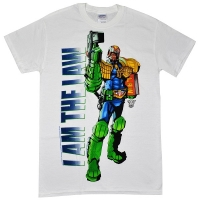JUDGE DREDD I Am The Law Tシャツ