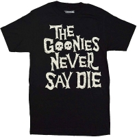 THE GOONIES Never Say Die Skulls Tシャツ