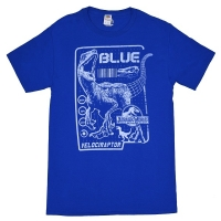 JURASSIC WORLD Raptor Blueprint Tシャツ