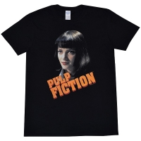 PULP FICTION Mia Script Logo Tシャツ