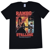 RAMBO Part2 Collage Tシャツ