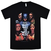 JUSTICE LEAGUE Save The World Poster Tシャツ
