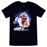 BACK TO THE FUTURE BTF2 Car Lightning Tシャツ