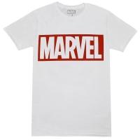 MARVEL COMICS Box Logo Tシャツ WHITE