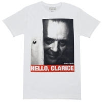 THE SILENCE OF THE LAMBS 羊たちの沈黙 Hello Quote Tシャツ