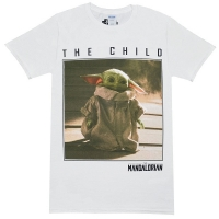 STAR WARS Mandalorian The Child Square Photo Tシャツ