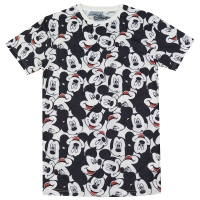 MICKEY MOUSE All Over Print Heads Tシャツ