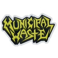 MUNICIPAL WASTE Logo ステッカー