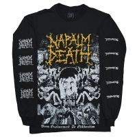 NAPALM DEATH From Enslavement To Obliteration ロングスリーブ Tシャツ