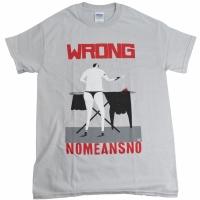 NOMEANSNO Man Ironing Tシャツ