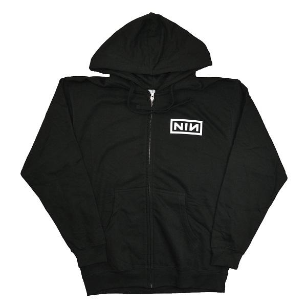 Nine Inch Nails Logo Zip Tradmode Sweater Nin Pa