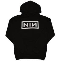 NINE INCH NAILS Classic White Logo プルオーバー パーカー