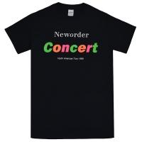 NEW ORDER Concert Tシャツ