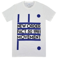 NEW ORDER Movement Tシャツ