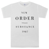 NEW ORDER Substance 1987 Tシャツ