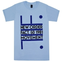 NEW ORDER Fact. 50 1981 Movement Tシャツ