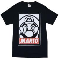 Nintendo Super Mario Bros Obey Tシャツ