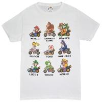 Nintendo Mariokart KartRacers Tシャツ