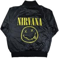 NIRVANA Smiley サテンジャケット