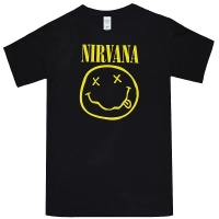 NIRVANA Smile Tシャツ