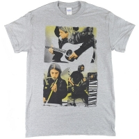 NIRVANA Photo Collage Tシャツ