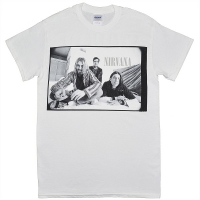 NIRVANA B&W Photo Tシャツ