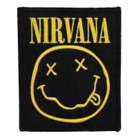 NIRVANA Smiley ワッペン