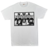 N.W.A Most Dangerous Tシャツ WHITE