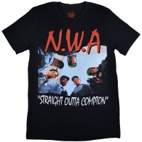 N.W.A Straight Outta Compton Tシャツ