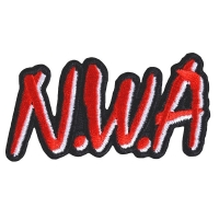 N.W.A Logo Cut-out Patch ワッペン
