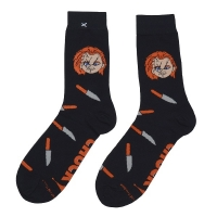 ODD SOX Child's Play Horror Chucky ソックス