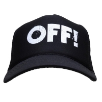 OFF! Logo メッシュキャップ BLACK