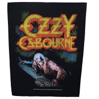 OZZY OSBOURNE Bark At The Moon バックパッチ