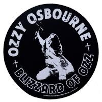 OZZY OSBOURNE Blizzard Of Ozz バックパッチ