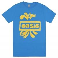 OASIS Drawn Logo Tシャツ SKY BLUE