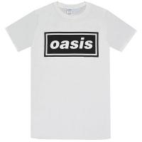 OASIS Decca Logo Tシャツ WHITE