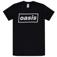 OASIS Decca Logo Tシャツ BLACK