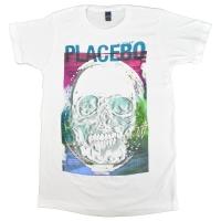 PLACEBO Psychedlic Skull Tシャツ