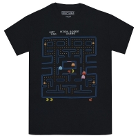 PAC-MAN Game Screen Tシャツ