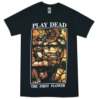 PLAY DEAD The First Flower Tシャツ BLACK