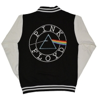 PINK FLOYD Dark Side Of The Moon Circle Logo バーシティジャケット